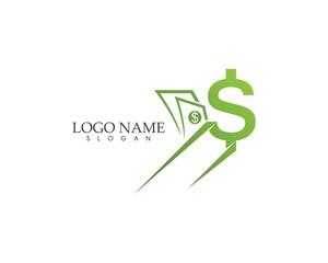 Money fast icon logo vector template