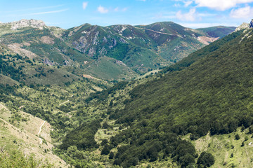 Argüello Biosphere Reserve. Declared by UNESCO in 2005, the Argüellos Biosphere Reserve is an area of special value, not only because of the importance of the Cantabrian flora and fauna. (Leon, Spain)
