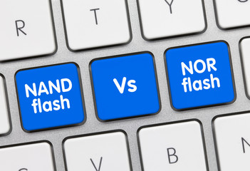 NAND flash Vs NOR flash