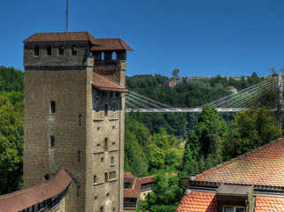 Tour médiévale des Portes de Fribourg et Pont de la Poya