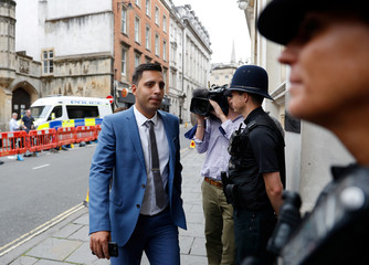 Ryan Ali arrives at Bristol Crown Court in Bristol