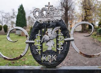 Eingang Friedhof Prinzeninsel Plön