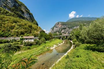 River Brenta in Valsugana - Sugana Valley Italy