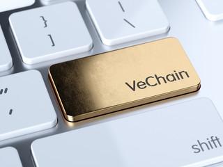 VeChain computer keyboard button