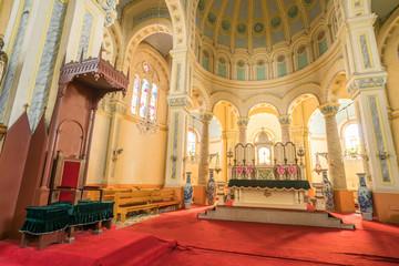 Tianjin west opens the church scenery