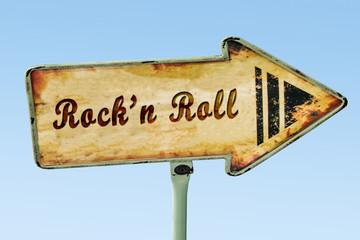 Schild 328 - Rockn Roll