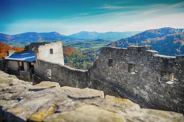 old Hukvaldy castle (czech republic)