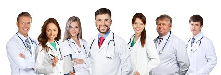 Confident Medical team at hospital