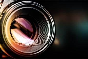 Camera lens shutter, close up