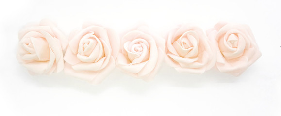 Fototapeta Ramka róże obraz
