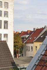 Beton gegen Dächer
