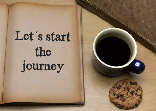 Let´s start the journey