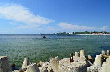 Zatoka Pucka latem, Pomorze/The Pucka Bay, Pomerania, Poland