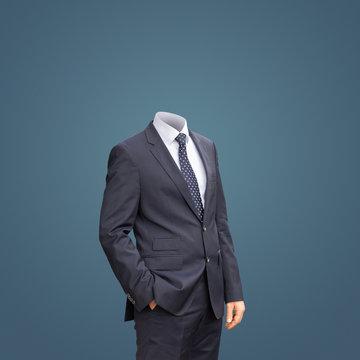 Mann ohne Kopf