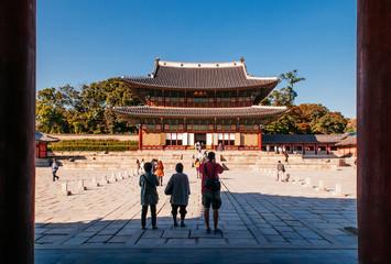 Injeongjeon hall of Changdeokgung Palace, Seoul, South Korea