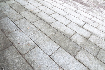 幾何学模様の石敷 - Stone floor of geometric patterns