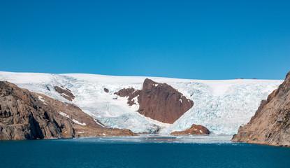 Gletscher im Prinz Christian Sund