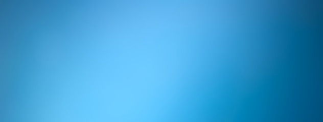 Light blue gradient abstract banner background Fototapete