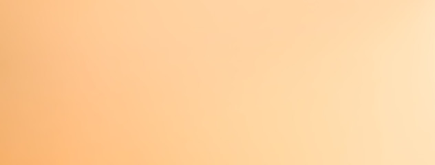 Light orange brown gradient abstract banner background