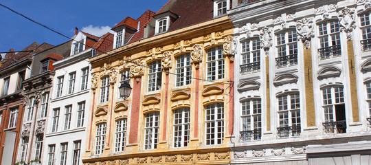 Lille (France) / Façades de la Grand Place