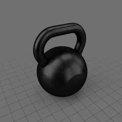 Kettle bell weight