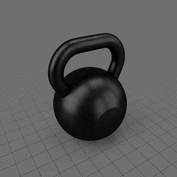 Kettle bell weight