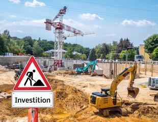 Investition Baugewerbe