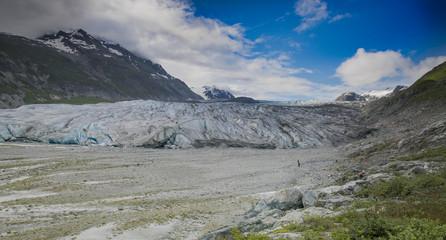 Reid Glacier, Glacier Bay, Alaska