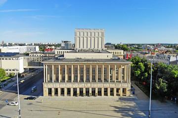 Teatr Wielki - Plac Dąbrowskiego - Łódź, Polska