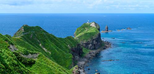 夏の神威岬 シャコタンブルー / 北海道 積丹町