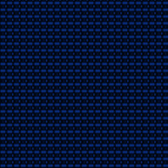 Blue volumetric carbon fiber texture vector background. Seamless pattern swatch included