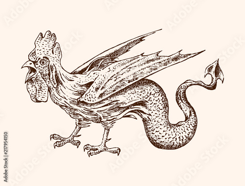 The cock in mythology