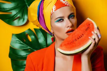 pretty tropic woman