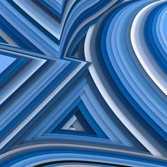 Geometric background. 3d illustration.