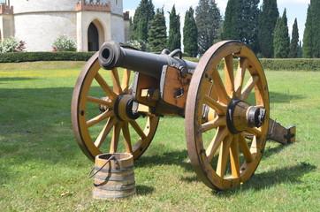 cannone Napoleonico giallo 2