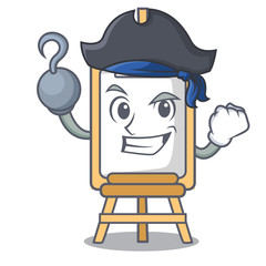 Pirate easel character cartoon style