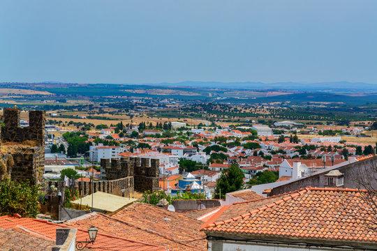 Beja City in Portugal
