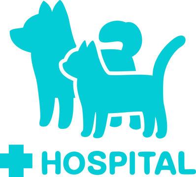 動物病院のマーク