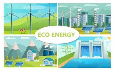 Flat Eco Energy Concept