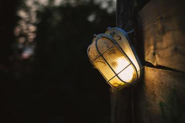 Street Broken Lamp
