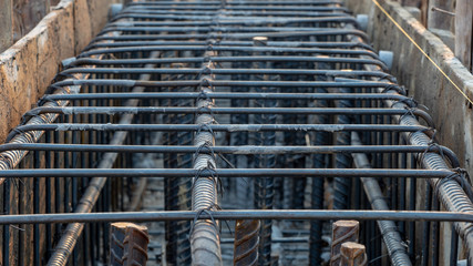 steel beam structure
