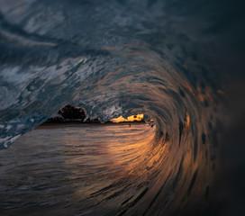 Fototapete - sunrise curl