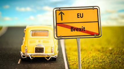 Schild 355 - Brexit