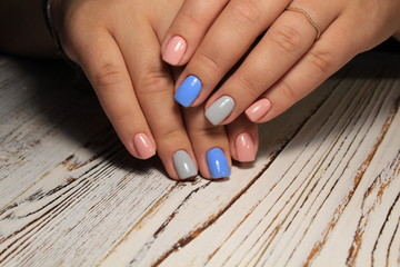 Fashion nails design manicure