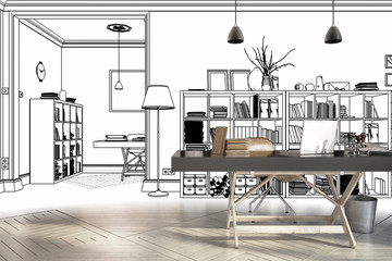Neugestaltung im Büro (Konzept)