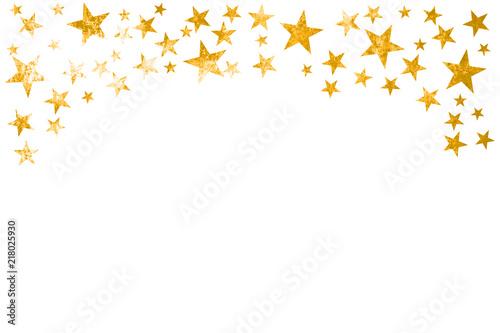 vorlage f r karte mit goldenen grunge sternen stockfotos. Black Bedroom Furniture Sets. Home Design Ideas