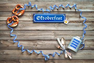 Rustic background for Oktoberfest