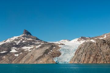 Gletscher Prinz Christian Sund