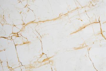 Texture of broken granite with yellow cracks