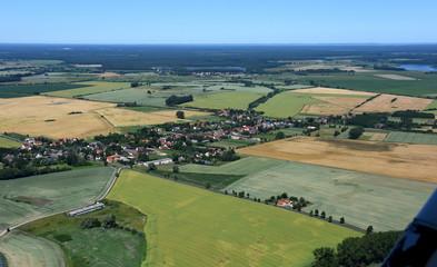 Zerrenthin zwischen Pasewalk und Löcknitz Fotoväggar